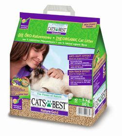 Cat's Best – Nature Gold - Clumping ECO Cat Litter - 2.5kg/ 5L